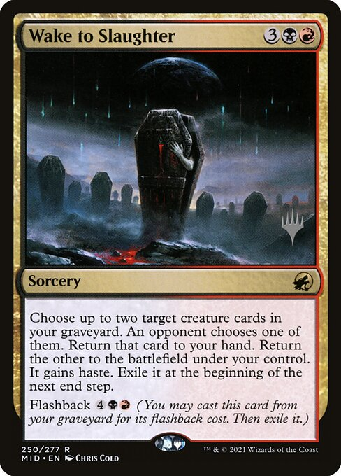 Wake to Slaughter (Promo Pack: Innistrad: Midnight Hunt)