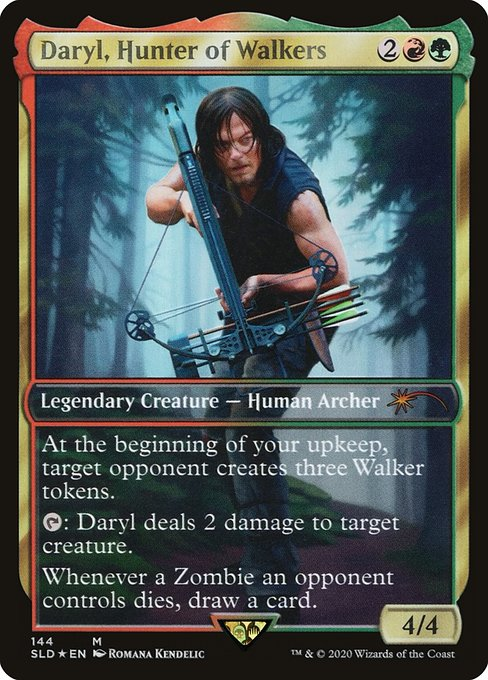 Daryl, Hunter of Walkers (SLD)