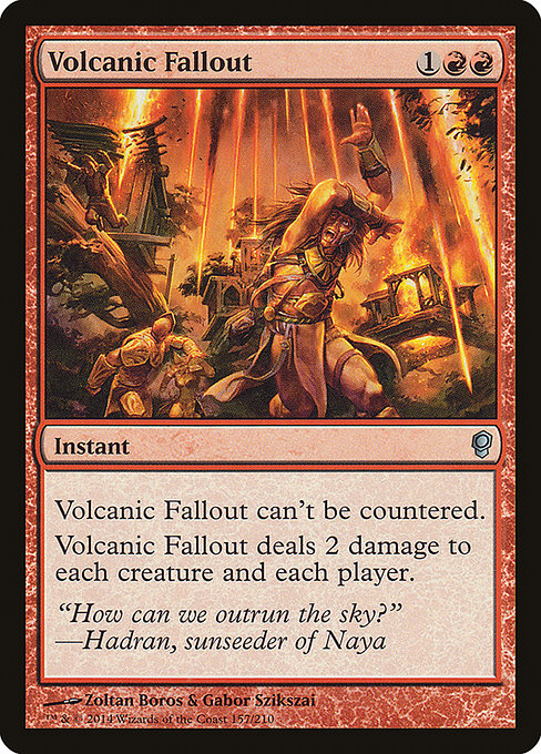Volcanic Fallout (CNS)
