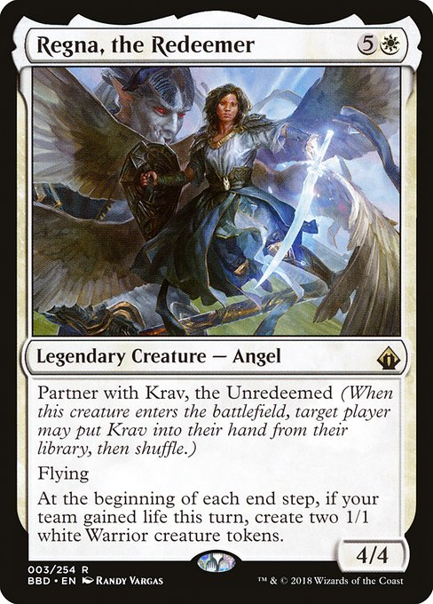 Regna, the Redeemer (BBD)