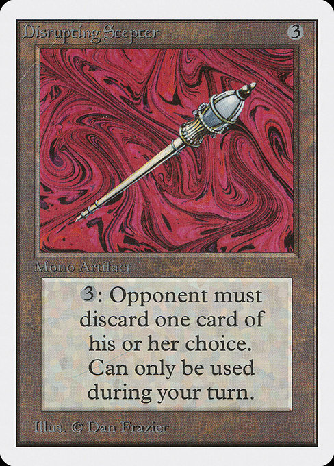 Disrupting Scepter (2ED)