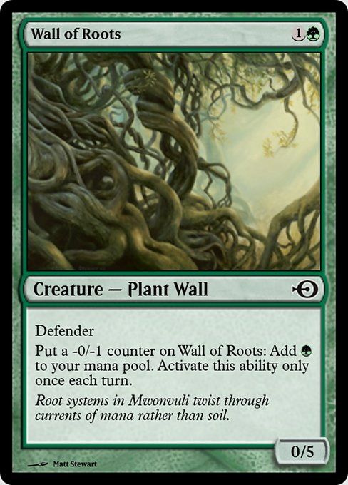 Wall of Roots (PRM)