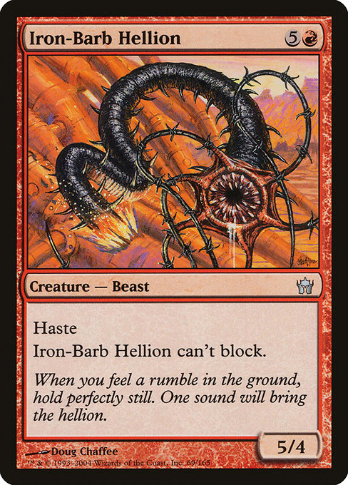 Iron-Barb Hellion (5DN)