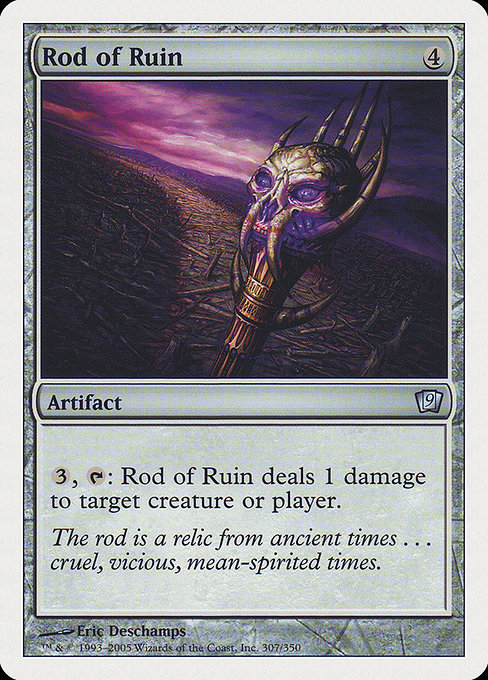 Rod of Ruin (9ED)