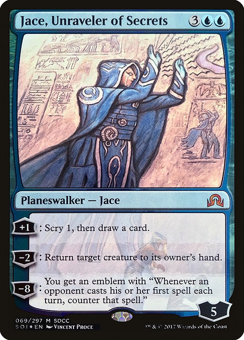 Jace, Unraveler of Secrets (PS17)