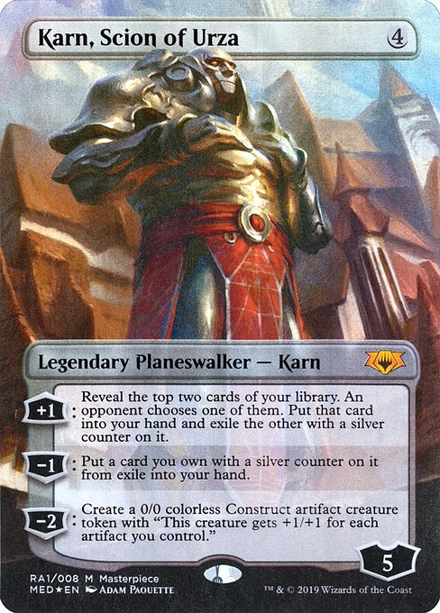 Karn, Scion of Urza (MED)