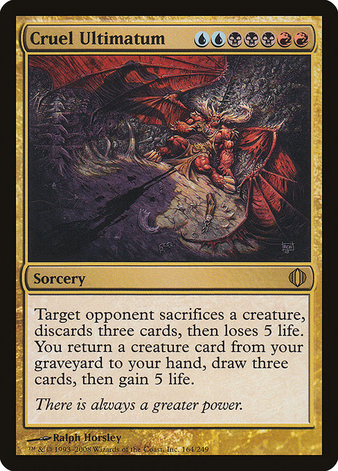 Cruel Ultimatum (ALA)