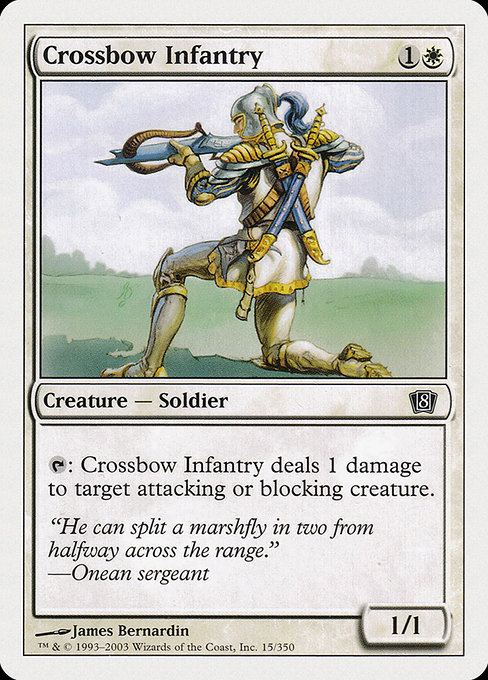 Crossbow Infantry (8ED)