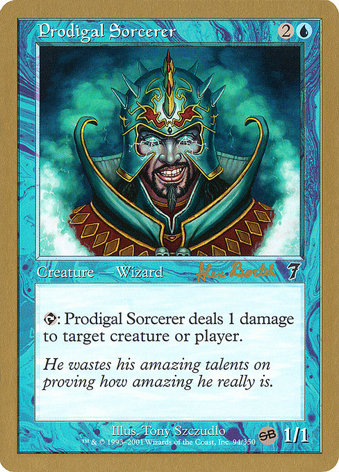 Prodigal Sorcerer (WC01)