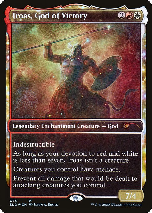 Iroas, God of Victory (SLD)