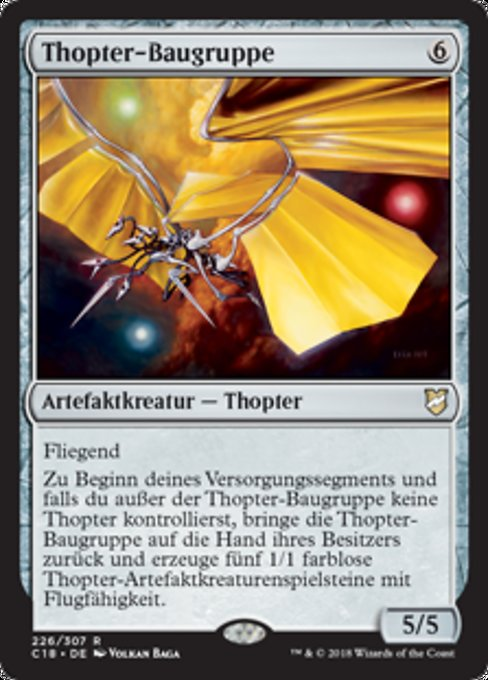 Thopter Assembly (C18)