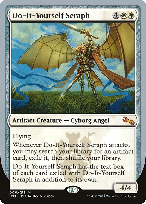 Do-It-Yourself Seraph (UST)