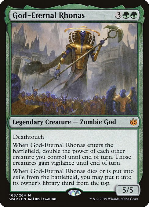 God-Eternal Rhonas (WAR)
