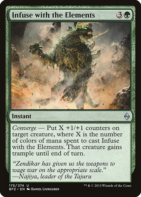 Infuse with the Elements (BFZ)