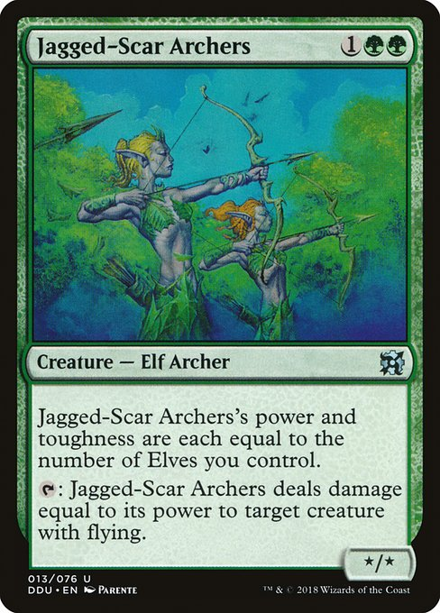 Jagged-Scar Archers (DDU)