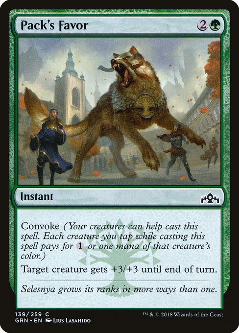 Pack's Favor (GRN)