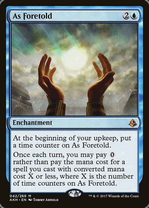 As Foretold (AKH)