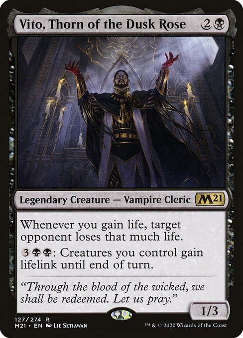 Vito, Thorn of the Dusk Rose (M21)