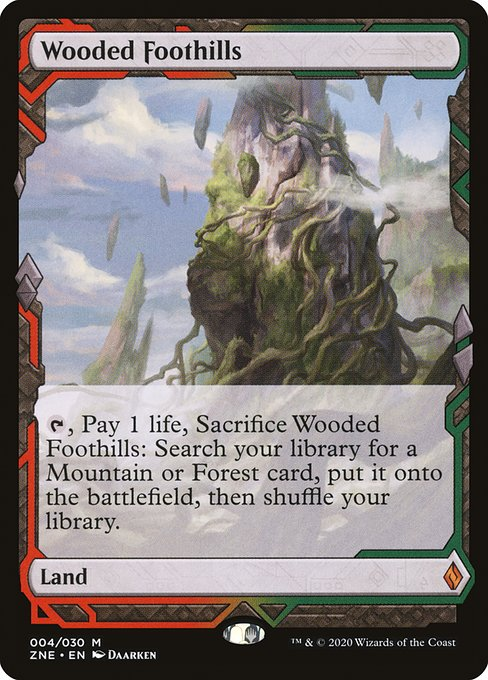 Wooded Foothills (ZNE)