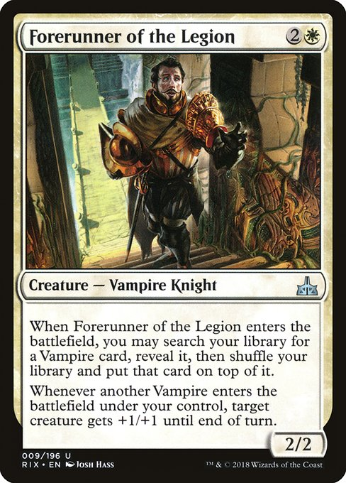 Forerunner of the Legion (RIX)