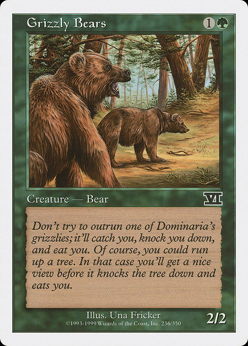 Grizzly Bears (6ED)
