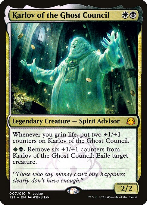 Karlov of the Ghost Council (PJ21)