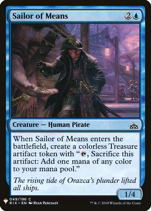 Sailor of Means (MB1)