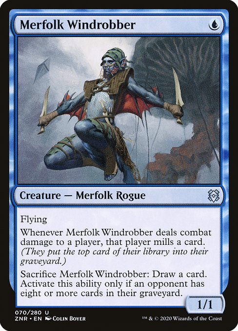 Merfolk Windrobber (ZNR)