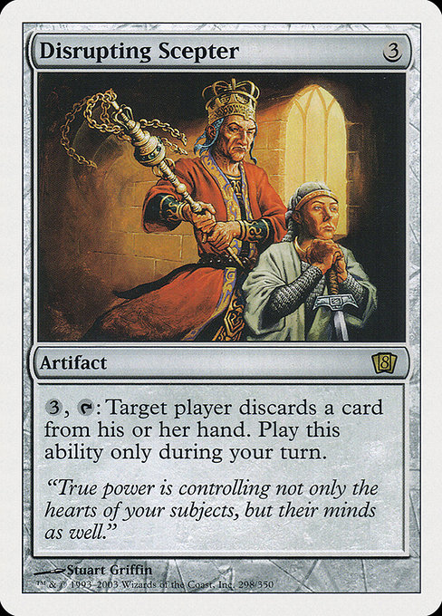 Disrupting Scepter (8ED)