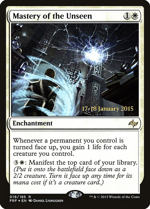 Mastery of the Unseen (PFRF)
