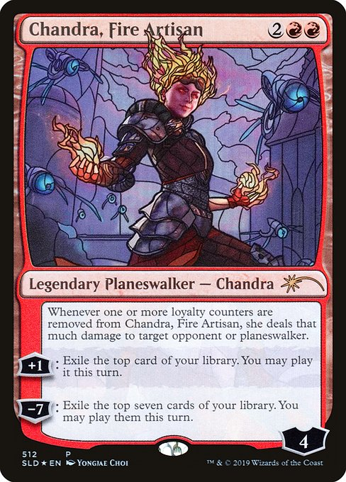 Chandra, Fire Artisan (SLD)