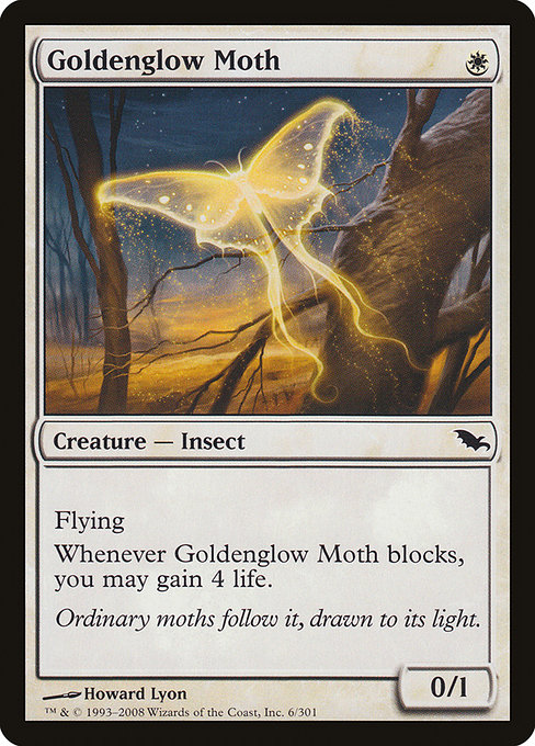 Goldenglow Moth (SHM)