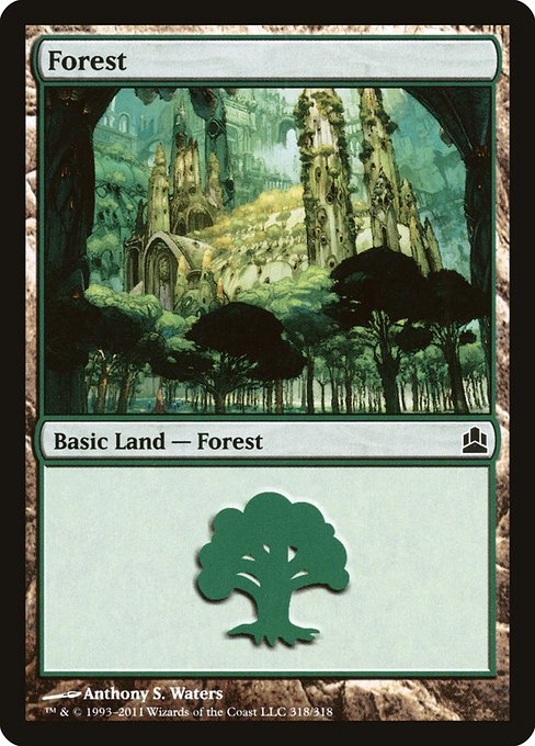 Forest - Commander 2011