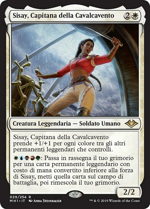 Sisay, Weatherlight Captain (MH1)