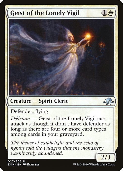 Geist of the Lonely Vigil (EMN)