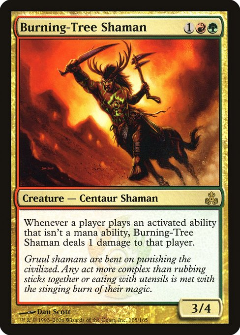 Burning-Tree Shaman (GPT)