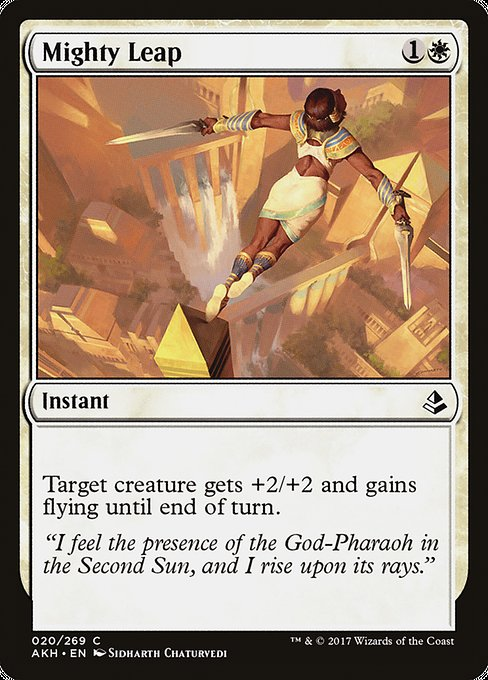 Mighty Leap (AKH)