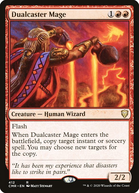 Dualcaster Mage (CMR)