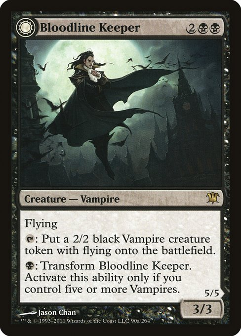 Bloodline Keeper // Lord of Lineage (ISD)