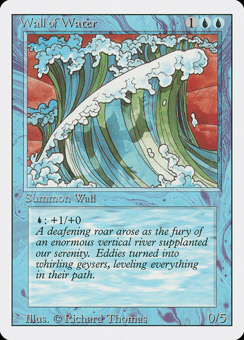 Wall of Water (3ED)