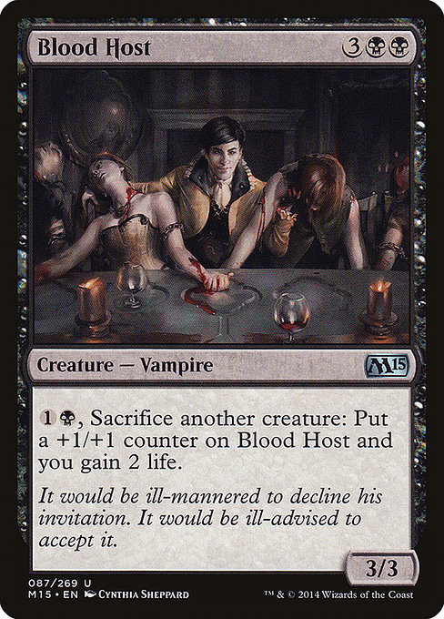 Blood Host (M15)