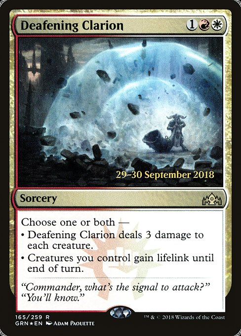 Deafening Clarion (PGRN)
