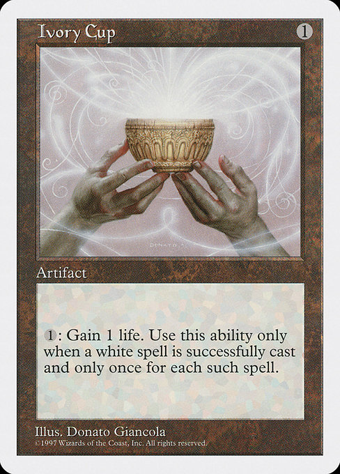 Ivory Cup (5ED)