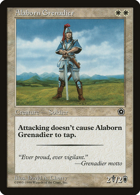 Alaborn Grenadier (P02)