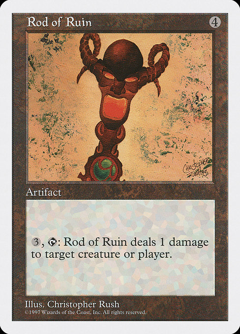 Rod of Ruin (5ED)
