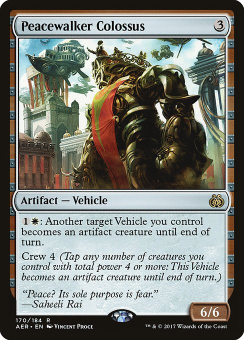 Peacewalker Colossus (AER)