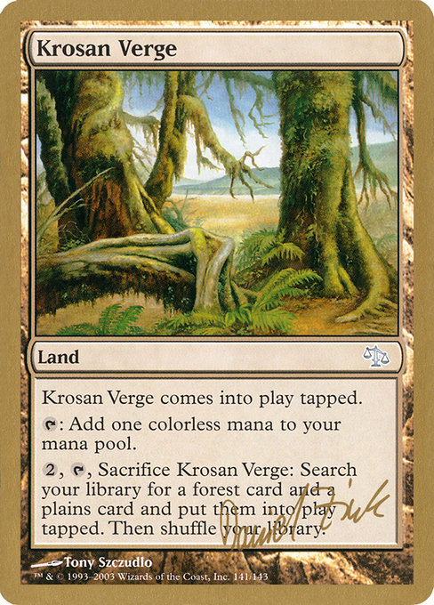 Krosan Verge (WC03)