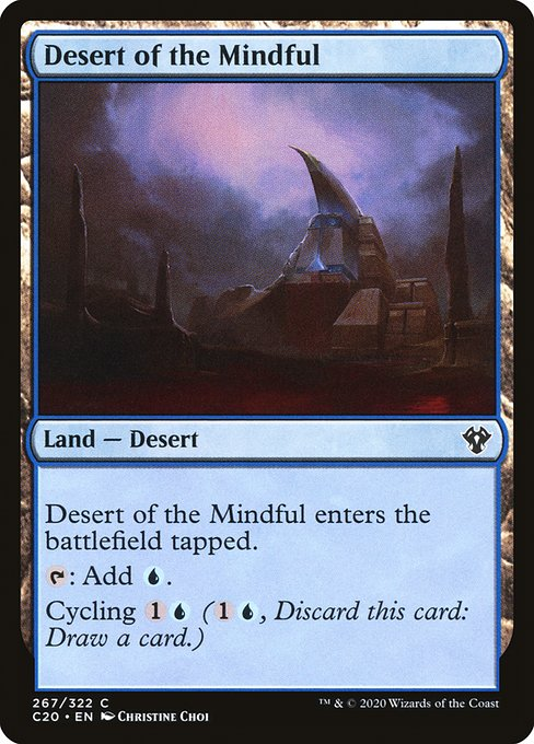 Desert of the Mindful (C20)