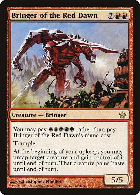 Bringer of the Red Dawn (5DN)