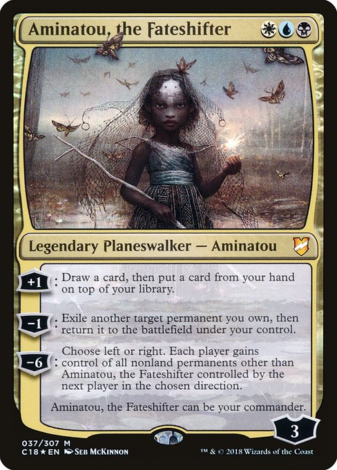 Aminatou, the Fateshifter (C18)
